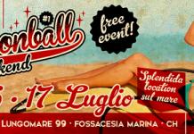 Cannonball Weekend a Fossacesia (CH) dal 15 al 17 luglio 2016