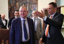 Delegazione dell'ambasciata russa in visita a Pescara