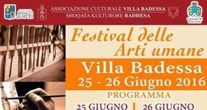 Festival delle Arti Umane a Villa Badessa
