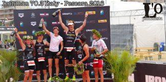 Ironman 70.3 Italy 2016 a Pescara - il podio
