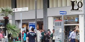 Pescara Calcio primi tifosi in fila per acquistare i biglietti della finale