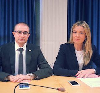 Sara Marcozzi e Domenico Pettinari