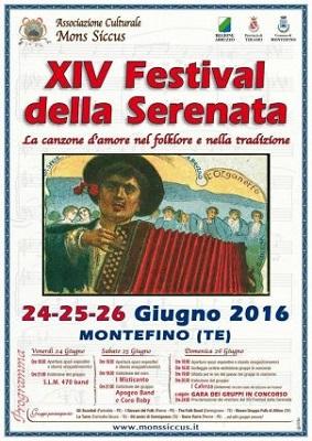 XIV Festival della Serenata Montefino