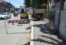riparata condotta gas in via del circuito a Pescara