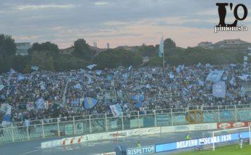 tifosi biancazzurri Pescara-Frosinone