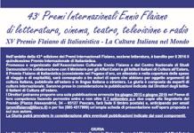 15° Premio Internazionale Flaiano d'Italianistica