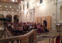 spettatori al FAI incontra Daniela Musini