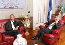Di Sabatino incontra il presidente della BCC di Castiglione e Pianella