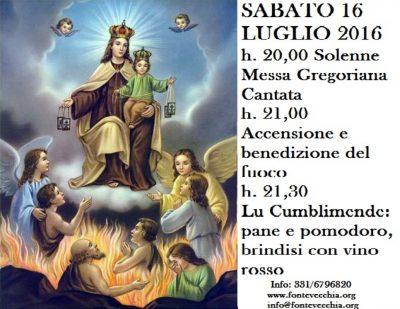 S. Teresa di Riva festeggia La Madonna del Carmelo, patrona della Città