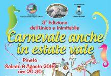 Pineto carnevale estivo 2016