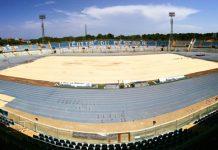 Stadio Adriatico di Pescara lavori in corso
