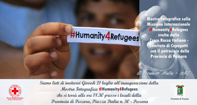 inaugurazione Mostra fotografica #Humanity4Refugees