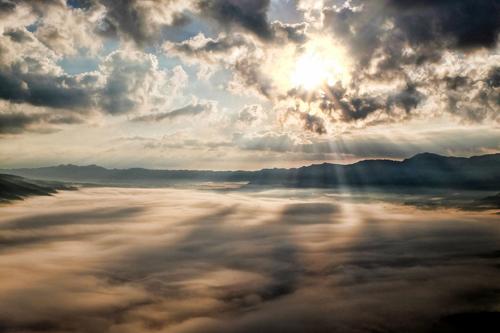 Meteo in Abruzzo, sole con clima decisamente invernale