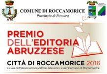 premio editoria abruzzese 2016 Città di Roccamorice 2016