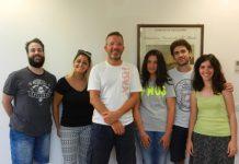 Alcuni corsisti con il M° Ettore Pellegrino