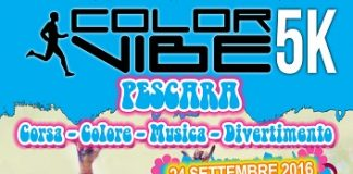 Color Vibe 5k Run 2016 Pescara
