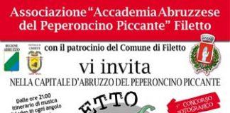 Festival del Peperoncino di Filetto 2016