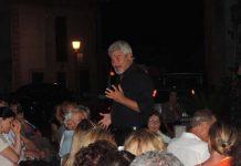 Foto Pino Insegno tra il pubblico