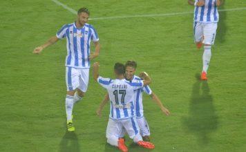 Pescara-Napoli 2-2 gol di Caprari