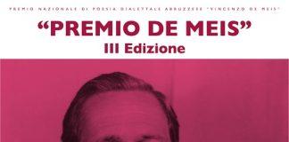 Premio De Meis locandina