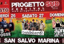 Progetto Sud Festival 2016 a San Salvo - il programma