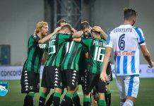 Sassuolo-Pescara 2-1 partita gol di Defrel