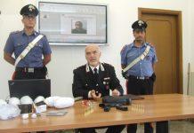 conferenza arresto droga e pistola francavilla