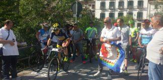 cronoscalata ciclistica a Civitella Alfedena