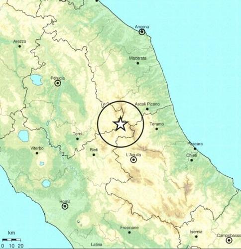 epicentro sisma amatrice