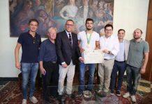 incontro con il pallanuotista olimpionico Francesco Di Fulvio