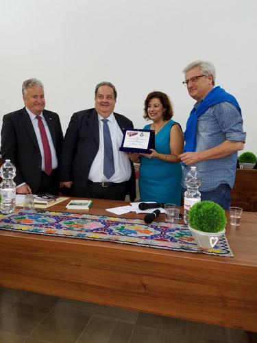 premiazione dell'Assessore Regionale Donato Di Matteo