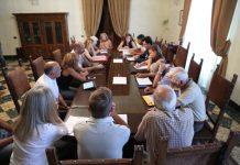 riunione con le associazioni ambientaliste