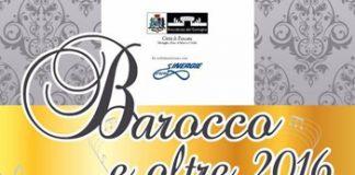 Barocco e oltre 2016