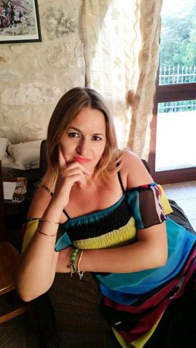 scrittrice Daniela D'Alimonte