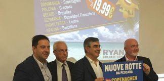 RYANAIR LANCIA L'OPERATIVO ESTIVO 2017 DA PESCARA