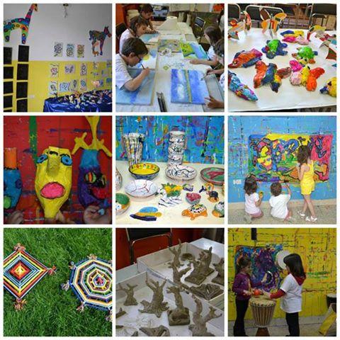 spesso laboratori creativi gratuiti per bambini a Villa Oliveti di Rosciano ZU55