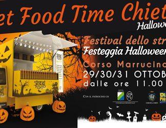 Street Food Time Halloween Edition dal 29 al 31 ottobre a Chieti, il programma