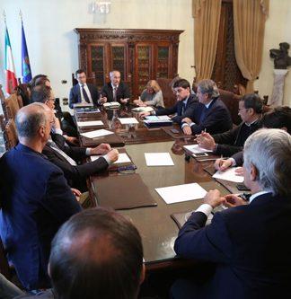 riunione progetto di riqualificazione Stadio Adriatico Cornacchia
