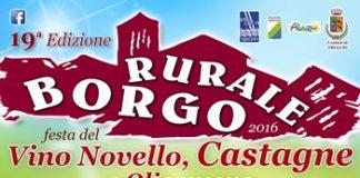 Borgo Rurale 2016 il 12 e 13 novembre a Treglio