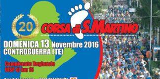 CORSA INTERNAZIONALE DI SAN MARTINO - CONTROGUERRA - 20ESIMA EDIZIONE