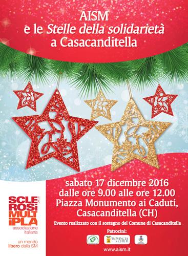 Locandina Stelle AISM a Casacanditella 2016