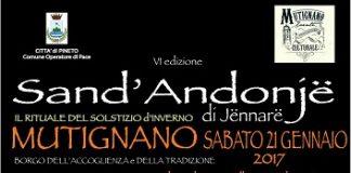 Lu sand'Antonje de Jennare a Mutignano