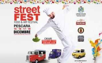 Street Fest a Pescara il festival del cibo e dell'arte di strada