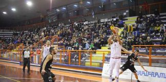Amatori-Rimini Simone Pepe al tiro