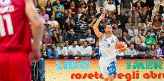 Basket, Roseto-Verona 81-65