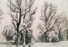 Chieti neve