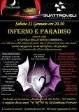 Inferno e Paradiso, cena a tema sulla Divina Commedia