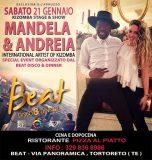 Mandela & Andreaia spettacolo al Beat