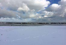 Montesilvano riva neve