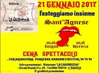 Sant'Angese - Male lingue & mal dicenza
